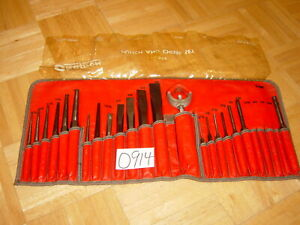 Snap On Tools 22 Piece Punch Chisel Set In Kit Bag Ppc210bk
