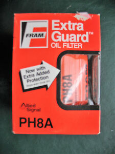 Fram Ph8a Oil Filter Extra Guard New In Orig Box Vintage 50 S 80 S Car Truck