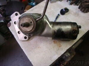 No name Milling Machine Power Feed flange Fits A Bridgeport Motor Works
