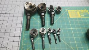 9 Greenlee Knockout Punch Lot 1 2 Thru 2 Conduit Tool Pioneer Chassis Round