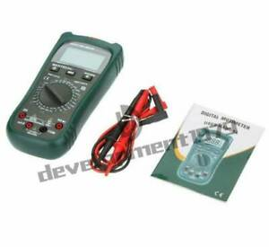 Ms8260b Digital Multimeter Dmm Volt Tester Detector Ammeter Multitester New