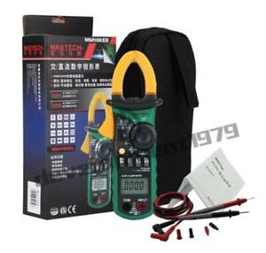 New Mastech Ms2108a Ac dc Cprofessional Urrent Clamp Meter Backlight