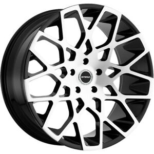 24x10 Silver Strada Buca Wheels 5x115 15 Fits Dodge Challenger Charger