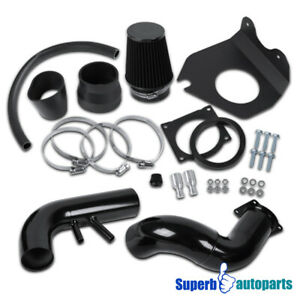 1996 2004 Ford Mustang Gt 4 6l V8 Glossy Black Cold Air Intake System Filter