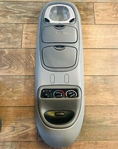 Ford Excursion Overhead Top Roof Console Map Light 00 05 Grey Gray Oem