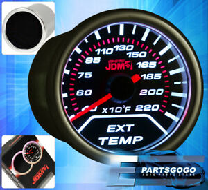 2 52mm Jdm Exhaust Temperature Gauge Egt For Nissan 240sx Sentra 350z Altima