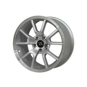 Fr500 Style Wheel 18 X 9 Silver 1994 2004 Mustang