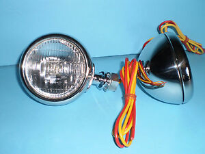 1932 Ford Passenger Car Cowl Lights With Turn Signals Vintique