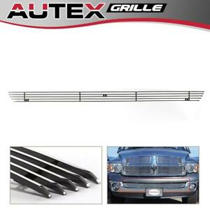 Fits For 2002 2008 Dodge Ram 1500 Lower Bumper Billet Grille Grill Insert