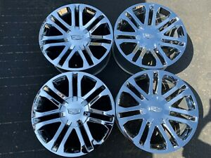 2018 Cadillac Escalade Factory 20 Wheels Oem Chrome Rims 4737 20997840