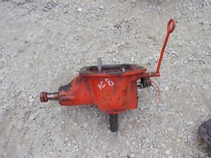 Allis Chalmers B Tractor Ac Power Take Assembly Pto Belt Pulley Drive Gear K