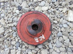 Allis Chalmers B C Tractor Ac Engine Motor Main Front Crankshaft Crank Pulley Kk