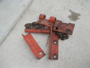Allis Chalmers Ac B C Tractor Cultivator Bracket Brackets Chain Implement Bar k