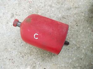 Farmall C Tractor Ih Engine Motor Oil Filter Cannister Holder Bolt