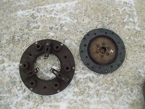 Farmall H Tractor Engine Motor Flywheel Clutch Pressure Plate Assembly