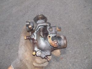 Farmall H Hv Early Sh Tractor Ih Ihc Original Working Carburetor Assembly H H