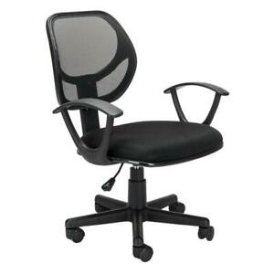 Ergonomic Mesh Computer Office Chair Mid back Executive Swivel Chair Task Black