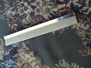 1971 1974 Cadillac Coup Deville Lower Stainless Drivers Rear Quarter Panel Trim