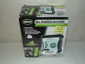 Slime 40028 Rechargeable All purpose Tires And Rafts Cordless