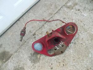 Farmall Sm Super M Mta Smta Tractor Ih Gauge Holder Bracket Brace W Oil Gauge