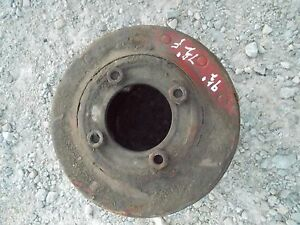 Farmall Sh Mv 300 350 Hv Tractor Ihc Paper Belt Pulley 9 1 2 Ready Use 4 Bolt