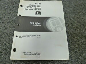 John Deere 300d 310d 315d Backhoe Loader Air Conditioning Service Repair Manual