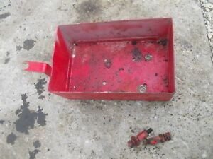 Farmall 300 Rowcrop Tractor Ih Ihc Tool Box For Under Gas Tank Bolts