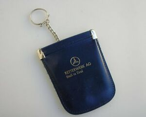 Vintage Mercedes Key Ring Fob Accessory Mb W 121 123 8 190 300 600 S Se Sl Nos