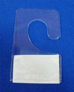 Hook Style Hang Tab With Adhesive Hook Style 3 8 Merchandise Price Tags