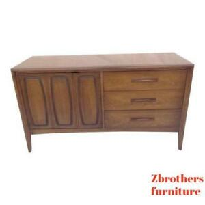 Danish Modern Sculptural Floating Server Sideboard Credenza Buffet Tv Stand