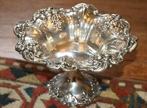 Vintage Reed Barton Francis I Sterling Silver Footed Bowl X568 Excellent