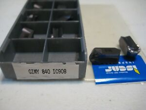 012 Iscar Carbide Grooving Turning Inserts Gimy 840 Ic908 1 Box Of 10 Pcs