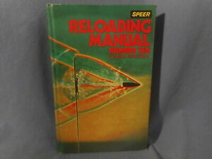 SPEER RELOADING MANUAL NUMBER TEN FOR RIFLE AND PISTOL 1981