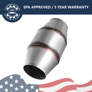 Universal 4 Inlet Outlet Catalytic Converter 6 Body Epa Approved