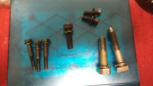 52 58 Fordomatic Ford O Matic Transmission Small Case Assorted Internal Bolts