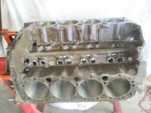 1969 Chevy 4 Bolt Main Block 3970010 H 19 9 Camaro Chevelle Corvette 302 327 350
