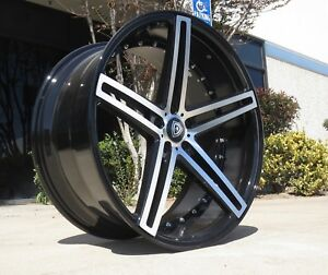 22 Marquee 5334 Wheels Fits Ford Mustang Lexus Gs Sc Infiniti Nissan Maserati