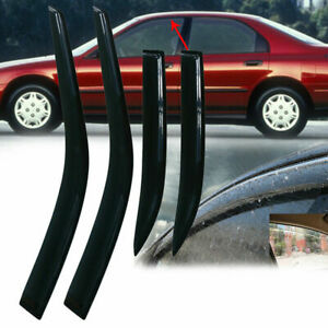 Fit For Honda Accord 1994 1997 Window Visor Rain Guard Style Sun Vent Shield New