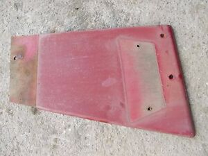 International 656 Hydro Tractor Ih Ihc Radiator Right Side Cover Panel