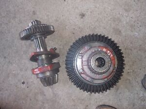 International 656 Rc Hydro Tractor Ih Matched Set Transmission Pinion Drive Gear