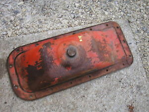Allis Chalmers D14 Tractor Ac Engine Motor Oil Pan With Drain Plug