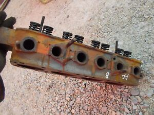 Allis Chalmers C B Tractor Engine Ac Motor Cylinder Head Valves W Springs