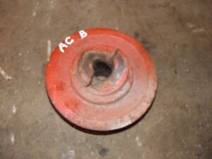 Allis Chalmers B C Tractor Ac Engine Motor Main Front Crankshaft Crank Pulley B