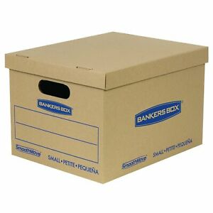 Smoothmove Classic Moving Boxes Tape free Assembly Easy Carry Handles New