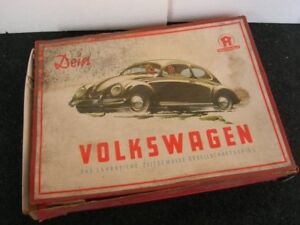 Dein Volkswagen Board Game Hausser Kdf Vw Split Oval Bug Cox Bus T 1 2