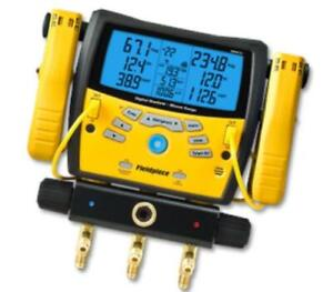 Fieldpiece Sman360 3 port Digital Manifold W Micron Gauge
