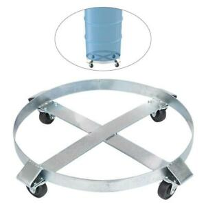 Drum Dolly Weight Capacity 1000lbs 0 45t Swivel Casters Heavy Duty Non Tipping