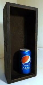Antique Vtg Homemade Painted Wood Box 13x5 X4 Use In Country Display
