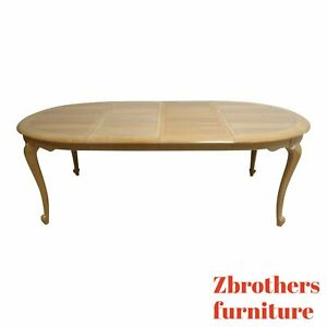 Century Furniture Oak French Country Oval Petite Dining Room Table Dinette