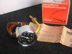 Motometer Thermo Gauge Thermometer 60 Mm Made In Germany Nos
